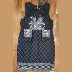 4 for $25 Black Dress Plaid Floral Stretch